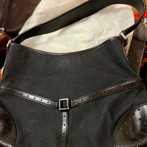 Gucci canvas GG Reins shoulder bag